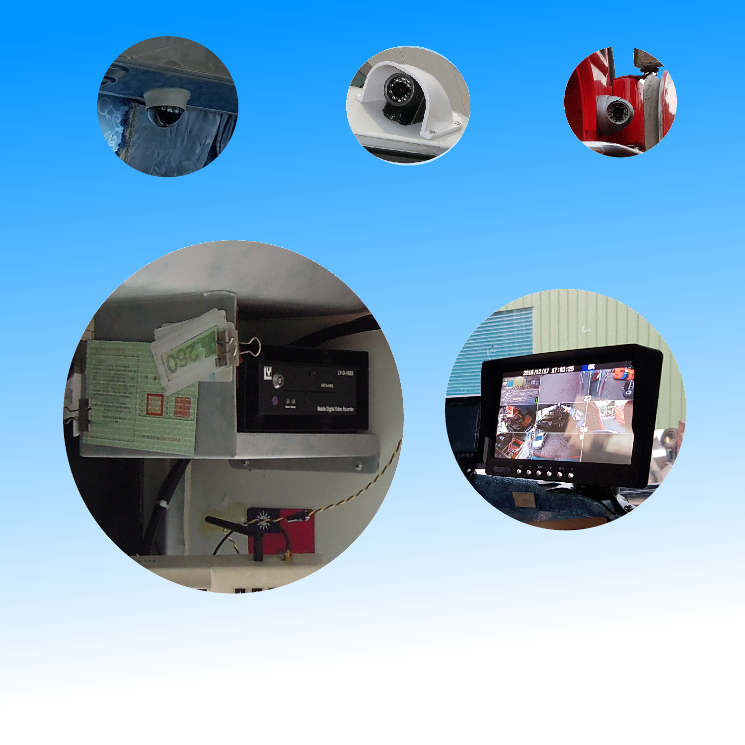 Video Monitor Set